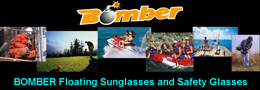 Bomber Floating Sunglasses and Safety Glasses